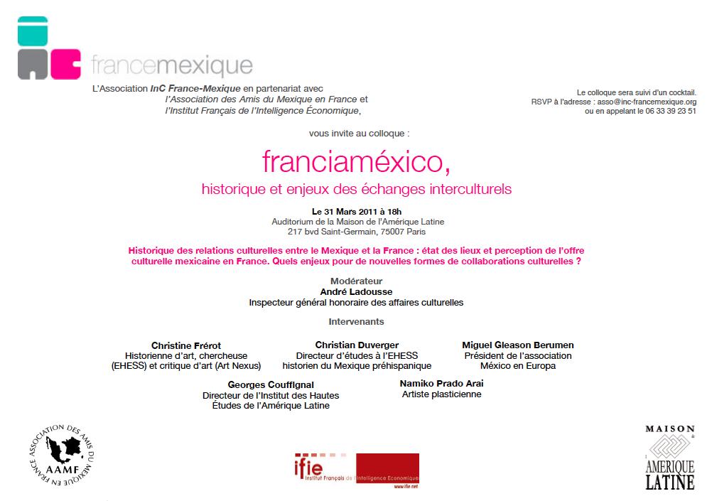 Coloquio : franciaméxico