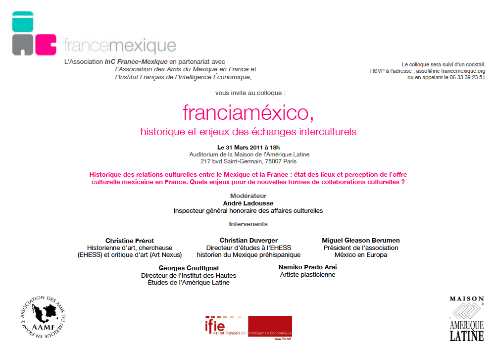 Colloque: France-Mexique